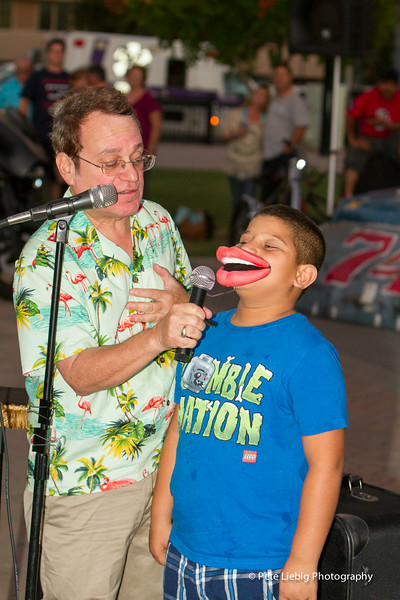 "Joe uses the ""Mic Mouth"" illusion on a volunteer who gets a new voice -- and personality."