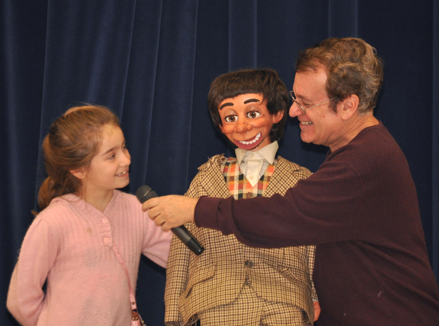 Since going fulltime Comic Ventriloquist Joe Gandelman has taught thousands of people of all ages how to do ventriloquism -- including Margarget Cho  on her VHI reality show 'The Cho Show' and corporate employees.